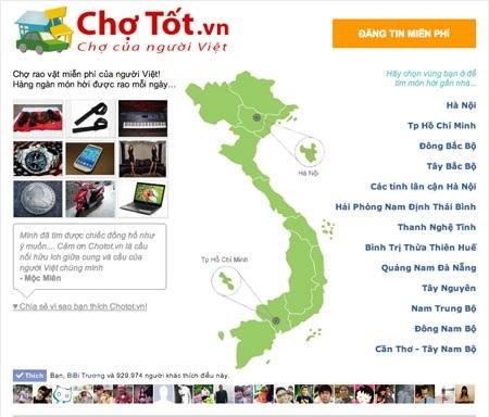 Xây dựng thương hiệu cho website rao vặt trực tuyến