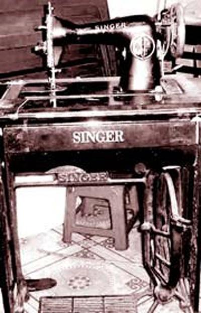 Chiếc máy khâu Hiệu Singer