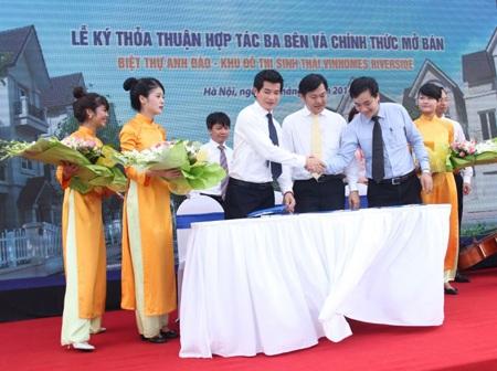 Lễ ký thỏa thuận hợp tác giữa VINHOMES - STDA - TECHCOMBANK