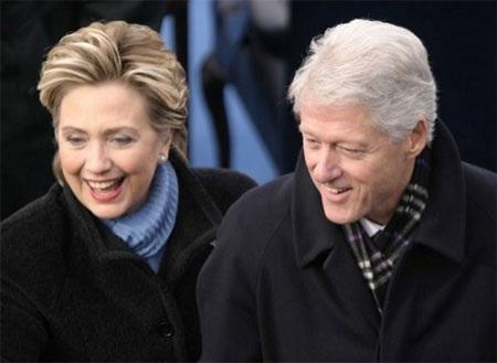 Vợ chồng cựu Tổng thống Mỹ Bill Clinton (Nguồn: Getty Images)