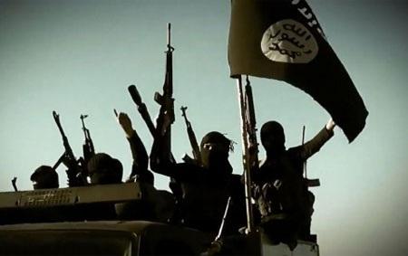 Các tay súng của IS (Ảnh AFP)