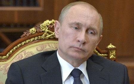 Tổng thống Putin được cho là không xuất hiện trước công chúng gần 10 ngày (ảnh: DailyMail)