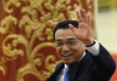 Thủ tướng Trung Quốc Lý Khắc Cường tại cuộc họp báo hôm 15/3