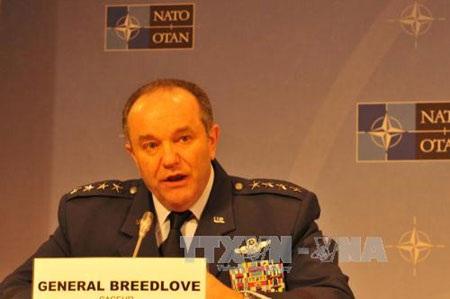 Tướng Philip Breedlove - Tư lệnh Tối cao NATO tại châu Âu (Ảnh: Hương Giang/TTXVN)