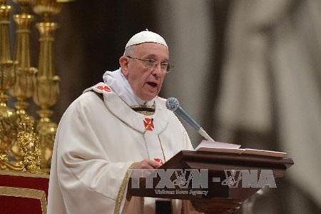 Giáo hoàng Francis (Ảnh: AFP/TTXVN)
