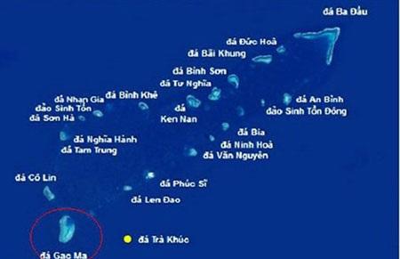 TQ đang ồ ạt xây dựng trái phép trên đảo Gạc Ma (cưỡng chiếm trái phép của Việt Nam)