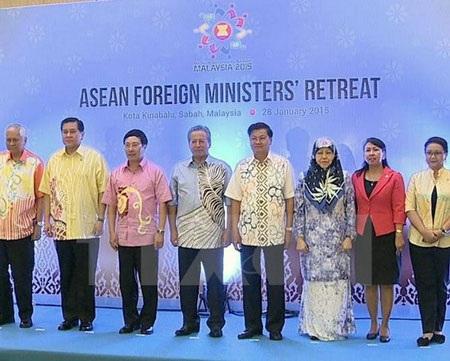 Hội nghị hẹp các Bộ trưởng Ngoại giao ASEAN (ảnh: TTXVN)