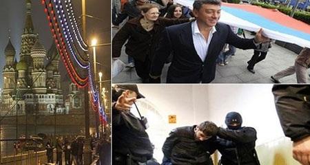 Cảnh sát đã xác định được 6 nghi phạm trong vụ giết hại ông Boris Nemtsov