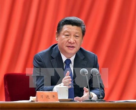 Chủ tịch Trung Quốc Tập Cận Bình (Nguồn: THX/TTXVN)