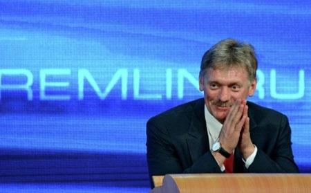 Ông Peskov tại cuộc họp báo (Ảnh Sputnik News)