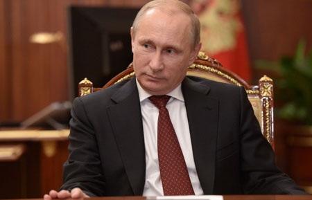 Uy tín của Tổng thống Nga Putin đạt mức cao kỷ lục