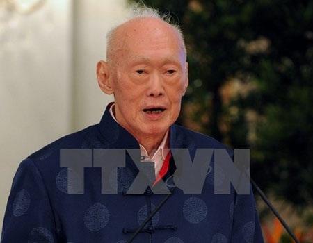 Cựu Thủ tướng Singapore Lý Quang Diệu. (Nguồn: AFP/TTXVN)