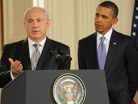 Tổng thống Mỹ Obama và Thủ tướng Israel Netanyahu (Nguồn: EPA)