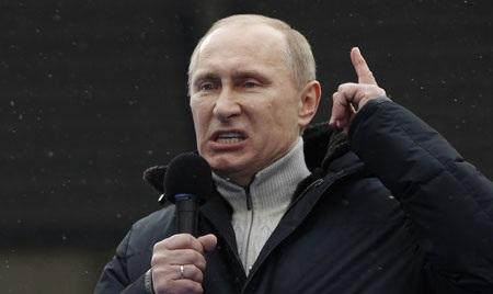 Tổng thống Nga Putin (ảnh: TheAtlantic)