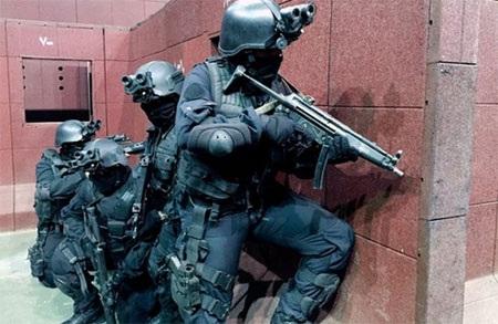 Lực lượng đặc biệt chống khủng bố của Saudi Arabia. (Ảnh: NPR)