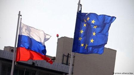 Cuộc chiến cấm vận kéo dài suốt một năm qua gây ảnh hưởng đến cả EU và Nga (Nguồn: DPA)