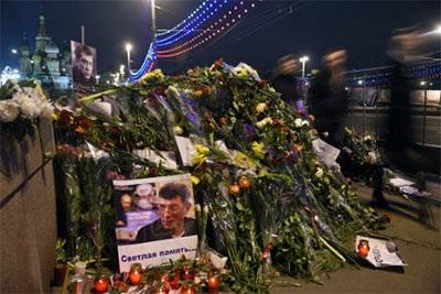 Hiện trường nơi ông B. Nemtsov bị sát hại