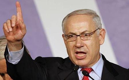 Thủ tướng Netanyahu ăn mừng chiến thắng