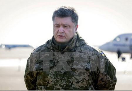 Tổng thống Petro Poroshenko. (Nguồn: AFP/TTXVN)