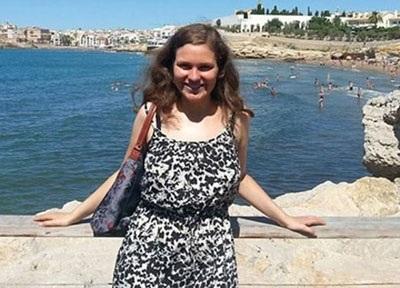 Cô bạn Elena Bless, 16 tuổi, một trong số 144 hành khách xấu số trên chuyến bay định mệnh 4U9525