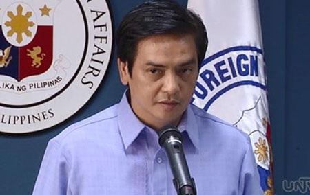 Người phát ngôn Bộ Ngoại giao Philippines Charles Josse