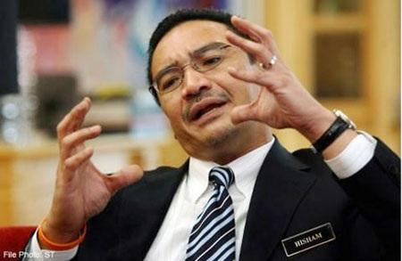 Bộ trưởng Quốc phòng Malaysia Datuk Seri Hishammudin Hussein