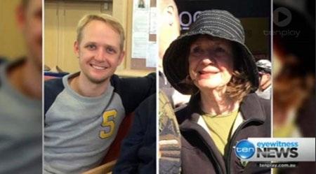 Bà Carol Friday (68 tuổi) cùng con trai Greig (29 tuổi), đến từ Victoria (Úc)
