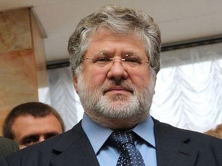 Thống đốc khu vực Dnipropetrovsk, Ihor Kolomoisky - một trong những người giàu nhất Ukraine