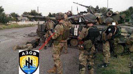 Các tay súng của Tiểu đoàn Azov