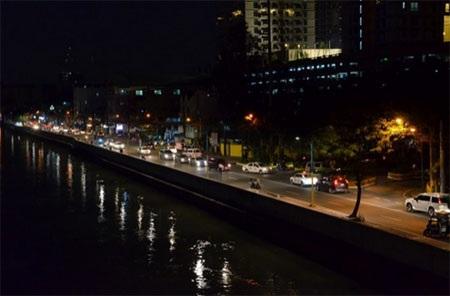 Đường phố tại thành phố Mandaluyong, Philippines (Nguồn: els.ph)