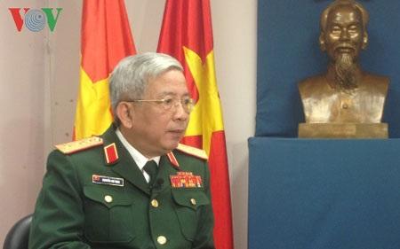 Thứ trưởng Bộ Quốc phòng Nguyễn Chí Vịnh