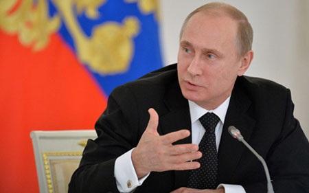 Tổng thống Nga Putin (ảnh: RIA)