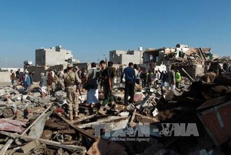 Không kích Yemen, liên minh Arab đòn cả Mỹ và Iran