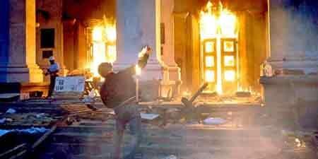 Hình ảnh vụ cháy ở