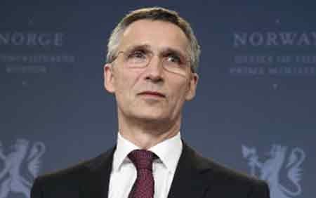 Tổng Thư ký NATO Jens Stoltenberg (ảnh: AFP)
