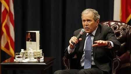 Cựu Tổng thống Mỹ George W. Bush lên tiếng bảo vệ hìn