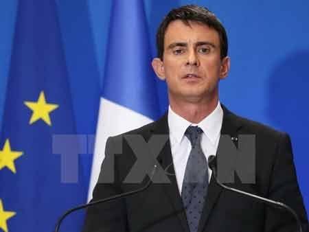 Thủ tướng Pháp Manuel Valls (Ảnh: AFP/TTXVN)