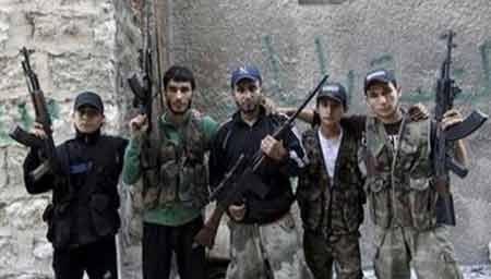 Các tay súng nước ngoài tham chiến ở Aleppo, Syria