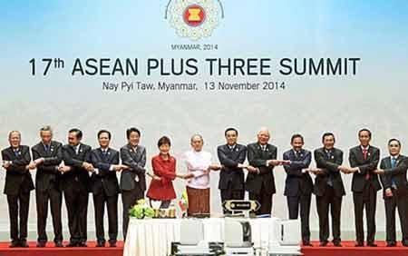 Cờ ASEAN (ảnh: Shutterstock.com)
