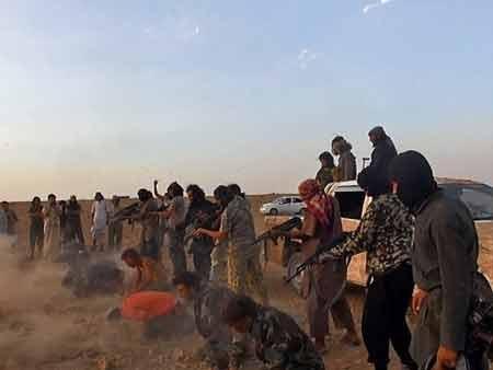 Phiến quân Takfiri hành quyết người ở Syria (Ảnh minh họa. Nguồn: AP)