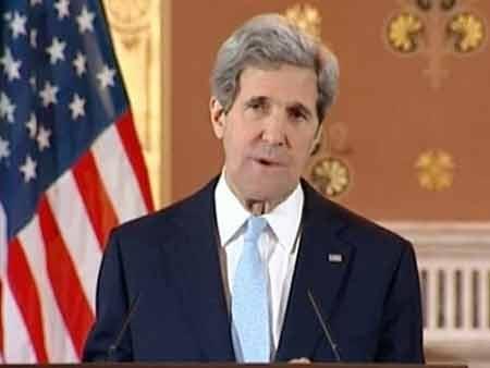 Ngoại trưởng Mỹ John Kerry (Nguồn: AP)