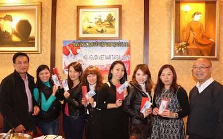 Cộng đồng người Việt tại Đài Loan tổ chức đón Xuân Ất Mùi (Ảnh nhân vật cung cấp)