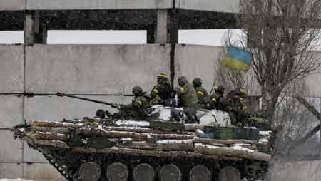 Quân đội Ukraina rút lui khỏi Debaltsevo ngày 18/2