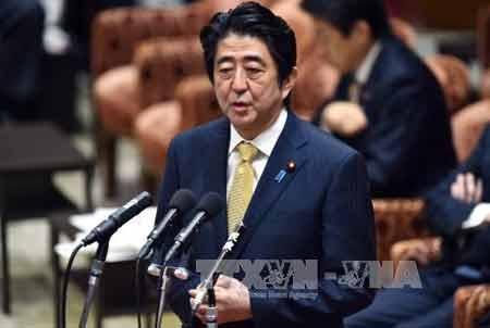 Thủ tướng Nhật Bản Shinzo Abe (Ảnh: AFP/TTXVN)