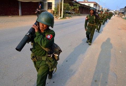 Binh sỹ Myanmar (Nguồn: AP)