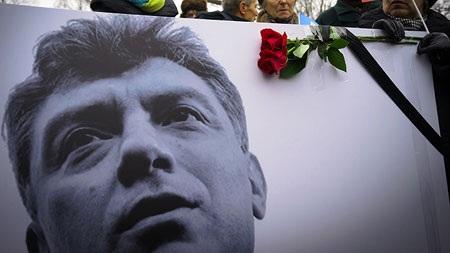 Ông Boris Nemtsov bị sát hại ngày 27/2 tại trung tâm Moskva