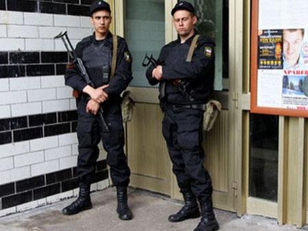 Cảnh sát Nga (Ảnh minh họa, nguồn: AP)
