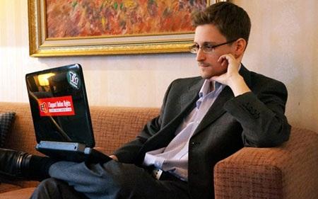 Cựu nhân viên tình báo Mỹ Snowden (ảnh: New Yorker)