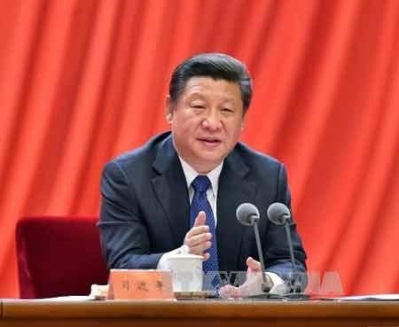 Chủ tịch Trung Quốc Tập Cận Bình (Ảnh: THX/TTXVN)
