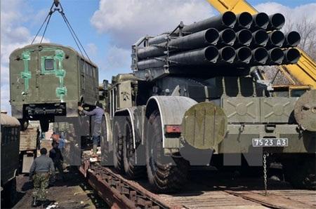 EU lên tiếng phản đối kêu gọi của Mỹ cung cấp vũ khí cho Ukraine